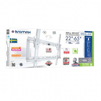 Кронштейн KROMAX IDEAL-4W WHITE